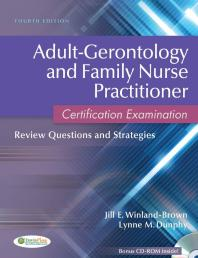 Cover for Adult-gerontology and family nurse practitioner certification examination eBook