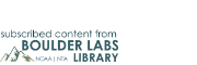 NOAA Boulder Labs Library