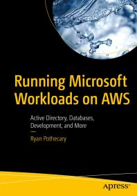 Click to access eBook titled Running Microsoft workloads on AWS
