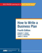 How To Write A Business Plan : EBook Edition