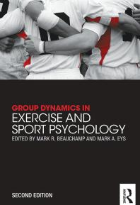 Book jacket for Group Dynamics in Exercise and Sport Psychology