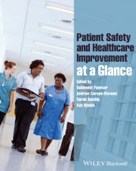 Patient Safety and Healthcare Improvement at a Glance Cover Image