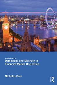 Book cover for Democracy and diversity in financial market regulation
