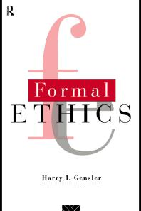 Formal Ethics cover image