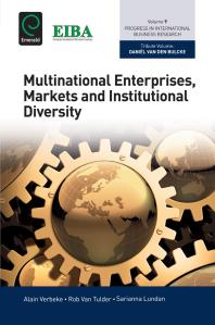 Book cover for Multinational enterprises, markets and institutional diversity