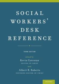 Cover Art for Social Workers' Desk Reference