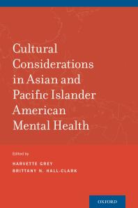 Cultural Considerations in Asian and Pacific Islander American Mental Health Book Cover