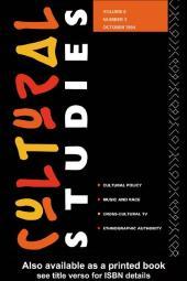Cultural Studies : Volume 8, Issue 3