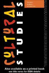 Cultural Studies : Volume 9 Issue 3