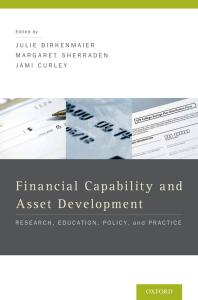 book cover for  Financial Capability and Asset Development : Research, Education, Policy, and Practice