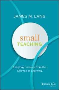 Cover of Small Teaching