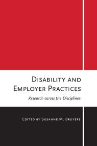 Disability and Employer Practices : Research across the Disciplines