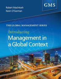 Book jacket for Introducing Management in a Global Context