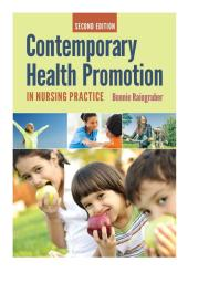 Contemporary Health Promotion in Nursing Practice Cover Image
