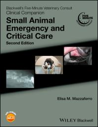 Blackwell's Five-Minute Veterinary Consult Clinical Companion : Small Animal Emergency and Critical Care Cover Image