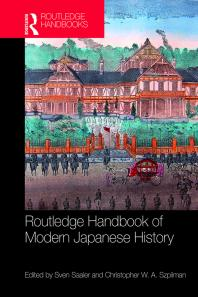 Routledge Handbook of Modern Japanese History Cover Image