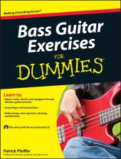 Bass Guitar Exercises For Dummies