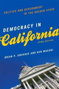 cover of Democracy in California : Politics and Government in the Golden State