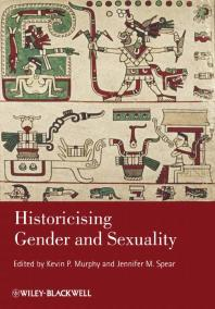 Image of ebook.  Historicising Gender and Sexuality.