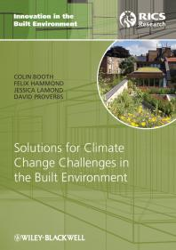 Innovation in the Built Environment: Solutions for Climate Change Challenges in the Built Environment